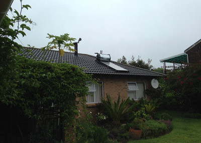 Solar water heating - 150Lt Kwiksol on-roof