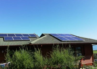 Outeniquastrand solar power installation