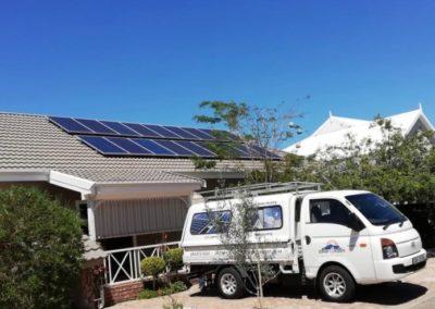 Oudtshoorn solar panel installation