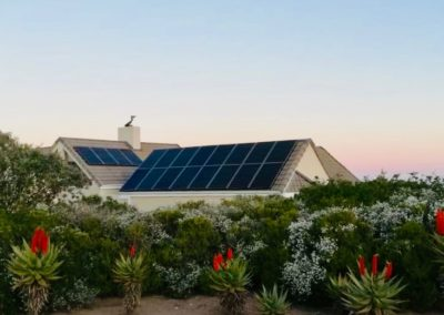 8KW Solar power installation at Nautilus Bay