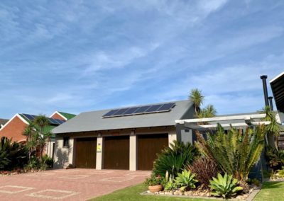 Solar power installation Outeniquastrand